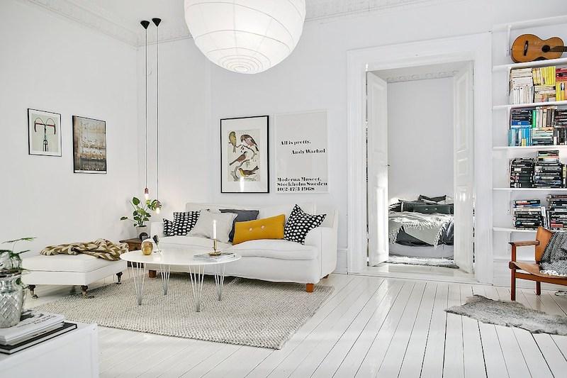 北欧インテリアの厳選実例|真似したくなる家具のコーディネイト集